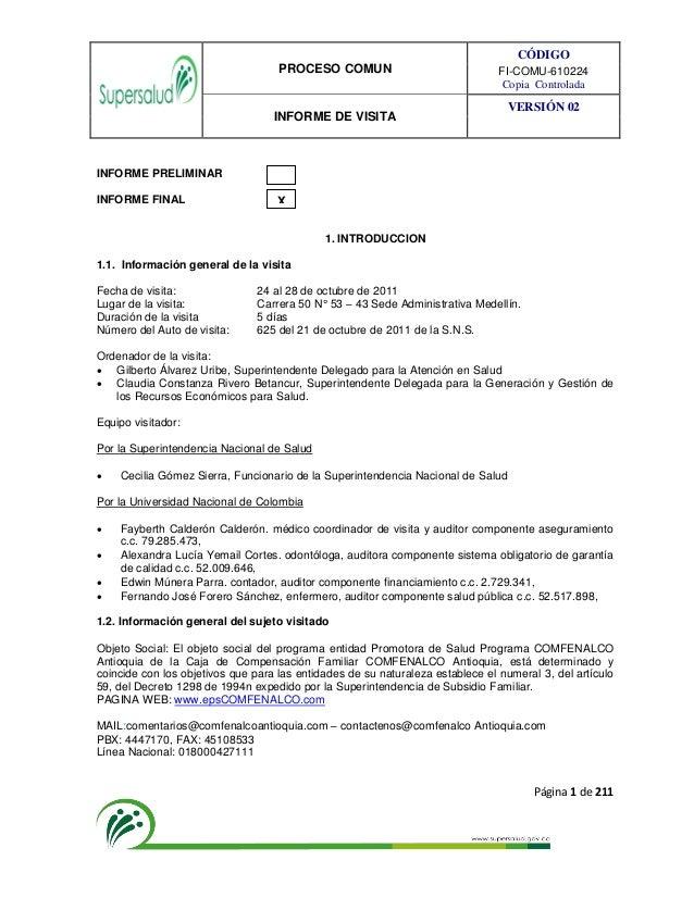 Citas Cafam - 265301